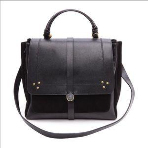 Jerome Dreyfuss Edouard Black Caviar Handbag